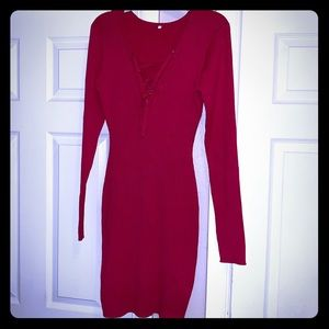 """""""In This Season""""Sweater dress New"""